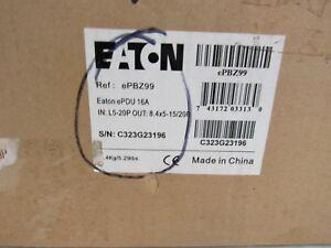 Eaton ePBZ99 1920W 12 5-20R Outlet Rackmount Power Distribution Unit 41-5