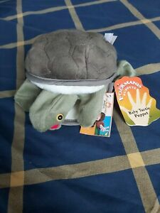 Folkmanis Baby Turtle Puppet Brand New Tags On