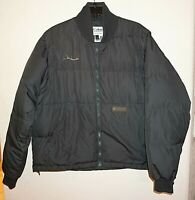 Columbia Interchange Hunting Puffer Jacket VEST Down Feather Sz M Army Green