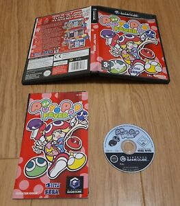 Puyo Pop Fever - Nintendo Gamecube. Complete with manual. PAL  Fast Dispatch !!