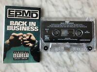 EPMD Back In Business Cassette Tape 1997 Def Jam Rap Hip Hop RARE! OOP!