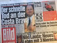 Bildzeitung vom 26.04.1997 * 20. 21. 22. Geburtstag Geschenk * Niki Lauda