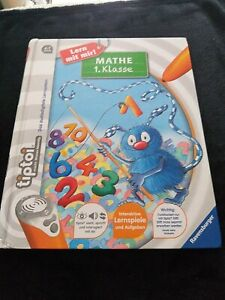 Tiptoi Buch Mathe 1. Klasse Ravensburger gut erhalten