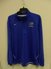 Middle Tennessee State Blue Raiders Football Nike Pullover Mens Size L
