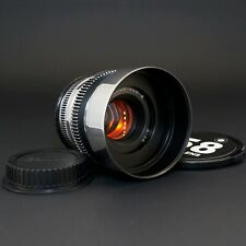 Silver Helios 44M 2/58 Anamorphic flare & Bokeh cine lens Canon EF, Sony E, M4/3
