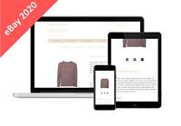 Auktionsvorlage eBay 2020 Responsive   HTML Template Mobiloptimiert - minimalist