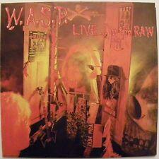 W.A.S.P. Live...In The raw Lp Vinyl 33 Giri Italy press