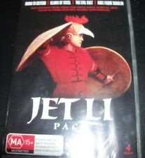 Jet Li 4 DVD Born To Defend/Claws Of Steel/The Evil Cult/Kids From Shaolin - NEW