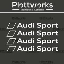 4 x Audi Sport Aufkleber   Sponsoren Motorsport VW BMW Audi Sticker