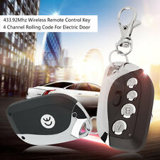 433.92Mhz Wireless Remote Control Key 4 Channel Rolling Code For Electric Door H