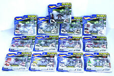 HOT WHEELS ROBO WHEELS TRANSFORM - TRANSFORMERS Retired 2001 LOT OF 13 NEW!