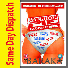 AMERICAN PIE Season Series 1, 2, 3, 4, 5, 6, 7 & 8 DVD Box Set 1 - 8 Collection