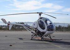 Sikorsky S-300CB Light Utility and Trainer Helicopter Desktop Wood Model Large