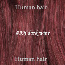 Clip in Remy Human Hair Extensions, Full Head 100% Human Hair UK Any Colors New
