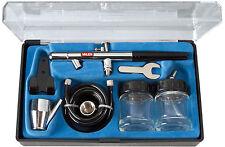 Aerografo aero penna Valex 2 serbatoi vetro modellismo