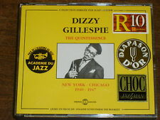 DIZZY GILLESPIE The quintessence 1940-1947 2CD