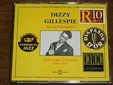 DIZZY GILLESPIE The quintessence 1940-1947 2CD