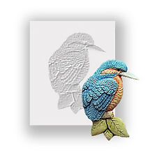 Kingfisher Silicone Mould, Food Safe, Cake Decorating, Sugarcraft Mold