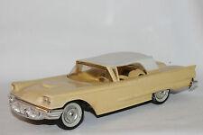 1958 Ford Thunderbird  Promo Car, Casino Cream with White Top,  Nice Original