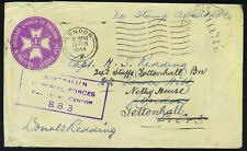 """Uk-Australia 1944 New Guinea Censored """"Australian Imperial Forces"""" On Soldiers"""