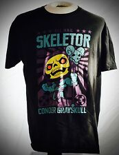 He Man Masters Of The Universe Evil Skeletor T-Shirt Conquer Grayskull Large