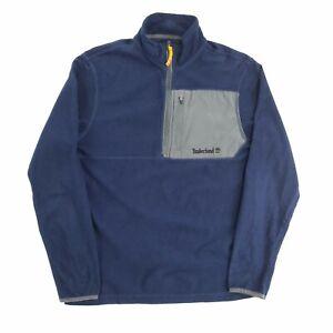 Timberland 1/4 Zip Fleece Navy S Pullover