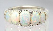 Echtschmuck-Ringe mit Cabochon-Opal