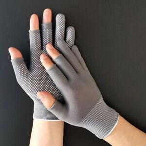 Fishing Fingerless Cycling Sport Gloves Cut Fishing Camping Hiking Quality New
