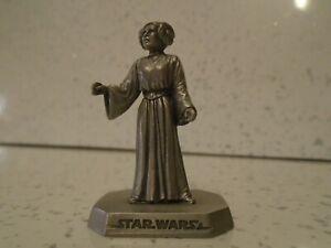 Rawcliffe Pewter Star Wars Princess Leia Organa Statue Figure not Selangor