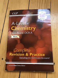 ocr a level chemistry revision guide