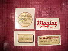 Maytag Decal Set Multi-Motor Gas Engine Twins  Singles