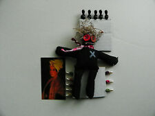 'Real' Black VOODOO Doll + (13) Real Voodoo Pins. NOT a toy!!