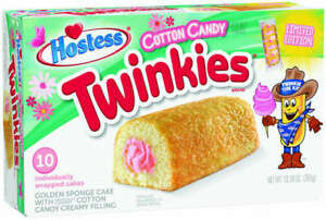 HOSTESS TWINKIES COTTON CANDY LIMITED EDITION - US IMPORT UK SELLER