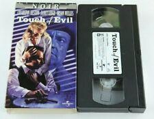 Touch Of Evil Vhs Tape Orson Welles Charlton Heston Janet Leigh Noir Film