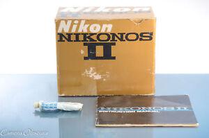 Retail Box for Nikon Nikonos II Underwater Camera (BOX ONLY + Accessories)