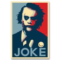 Joker Batman The Dark Knight Canvas Movie Poster Art Prints Picture 8x12 24x36