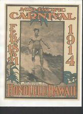 Vintage Hawaiian Travel Poster (8½' x 11')