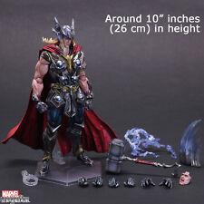 Play Arts Kai Marvel Universe Avengers Thor Variant Figure Statue 3D Model NEW