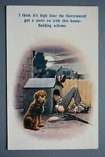 R&L Postcard: Bamforth 805 Douglas Tempest Council House Building Dog Kennel