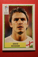 Panini EURO 2000 N. 85 BECKHAM ENGLAND TOP MINT WITH GREEN BACK