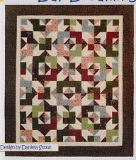 Day Dreaming - pieced quilt PATTERN for fat quarters - Cozy Quilts - 4 sizes