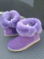 Hardly Worn Purple UGG Bailey Button Boots Size 5.5