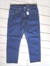 Indigo, Dark wash Mid Rise Regular 28L Jeans for Men