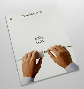 Apple History! 1985 Macintosh Office brochure. Sold by one of the photograpers!