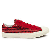 Mens Converse Chuck Taylor Blanket Oxford Varsity Red Trainers