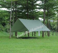 2.8m Hammock Tent Camping/Backpacking Rain Tarp with Stuff Sack Hook Ring Rope