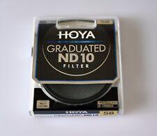 HOYA 58mm Graduated Neutral Density 10 Filter