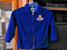 Warner Bros. Studio Store Navy Blue L.S. Lined Child's Jacket With Tweety Bird