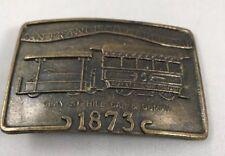Vintage 1873 San Francisco Vintage Cable Car Belt Buckle
