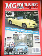 MG Enthusiast Aug 1994 MG RV8 replica